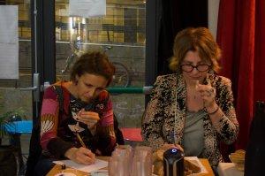 atelier vin borderline spectacle vin compagnie du vin des lyres pertuis paris elsa prevost mélanie kahn arômes vin terroir vigneron